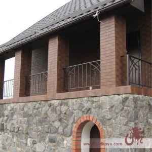 Кованое ограждение для балкона