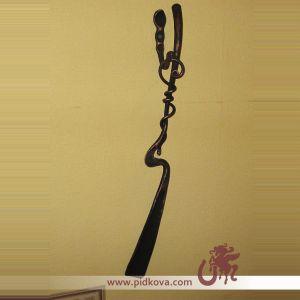 Кованая ложечка для обуви, язычёк