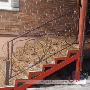 Лестница ручная ковка