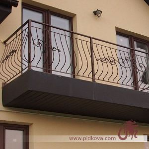 Балкон выгнутый GB 75