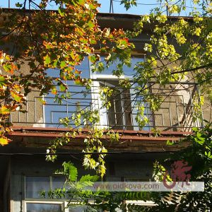 Балкон геометрия фасад
