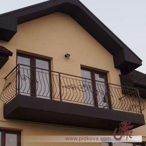 Выгнутый балкон GB 75