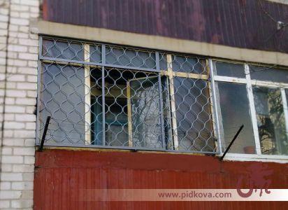 Кованая балконная решётка