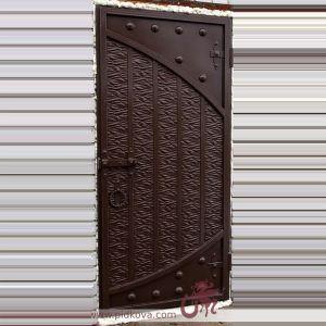 Стальные двери с жаткой