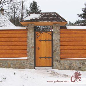 Кованые жиковины на калитку и ворота