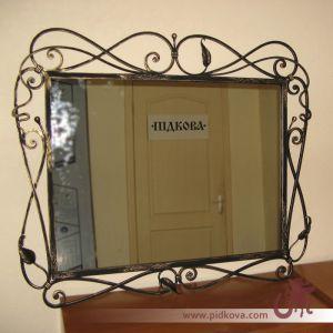Кованая рамка на зеркало