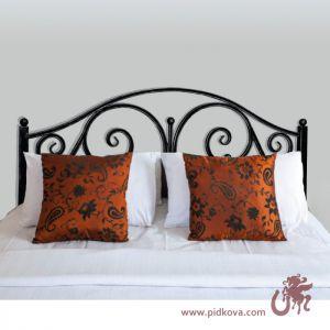 Металлическая кованая кровать