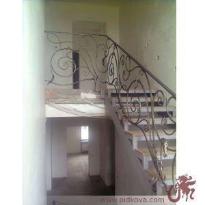 """ограждение лестницы """"лоза"""""""