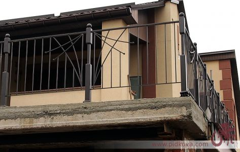 Балконное ограждение ковка.