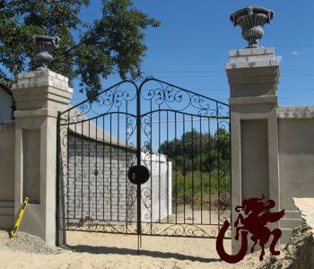 Кованые решетчатые ворота