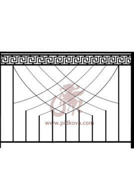 Перила на балкон sb-06