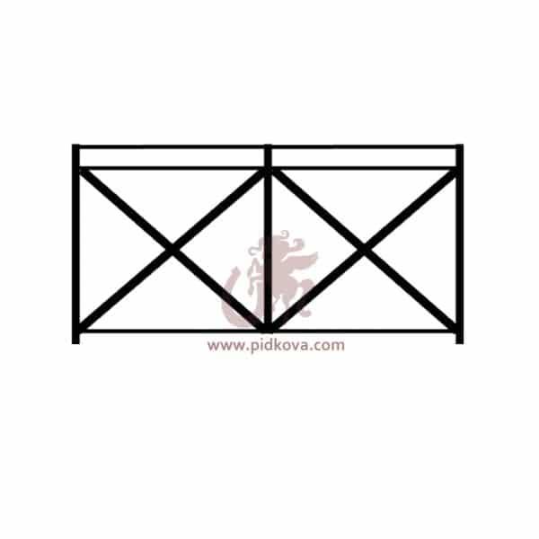 Перила на балконsb-08