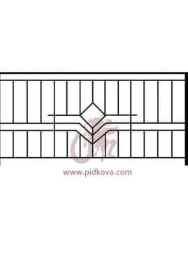 Перила на балкон sb-14