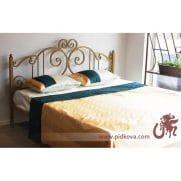 Кованая кровать, Алиса-1,8. Цвет золото