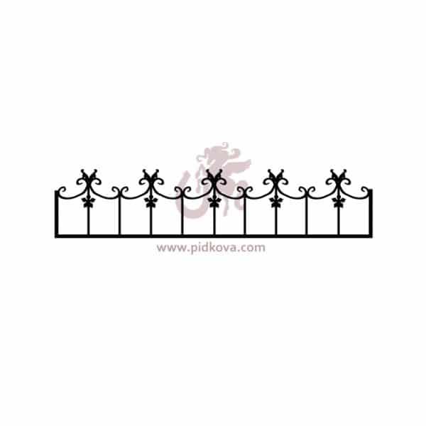 Оградка на кладбище G-14