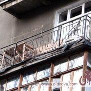 Перила на балкон геометрия сб-17