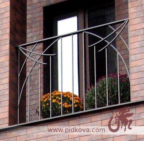 перила на балкон геометрия sb-10