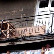 Перила на балкон геометрия sb-17