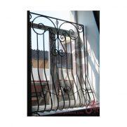 Решетка на окно, выгнутая