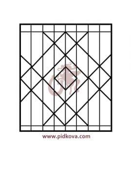 Решетка на окно 40