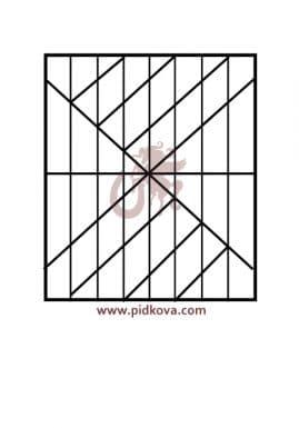 Решетка на окно r-47