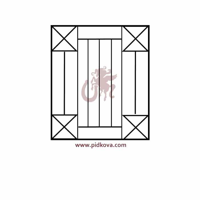 Решетка на окно r48