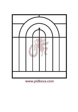 Решетка на окно r71