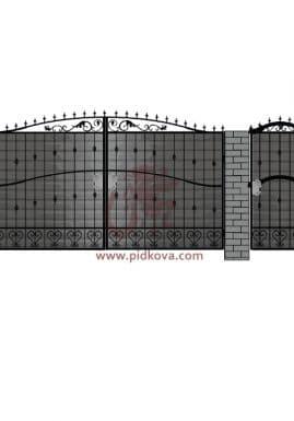Кованые ворота pro-03