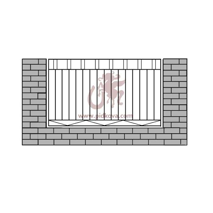 Забор z-12