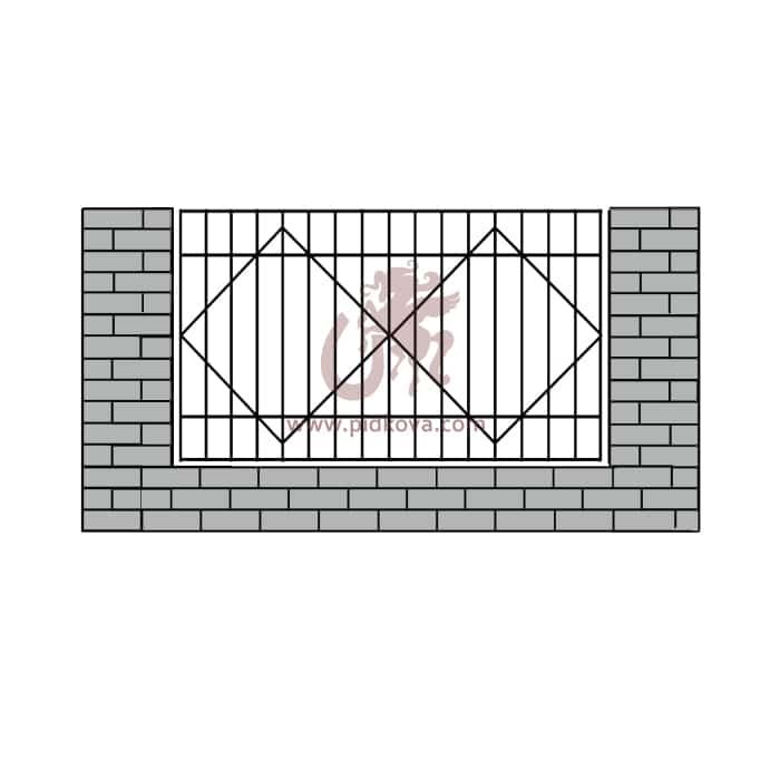 Забор z-16