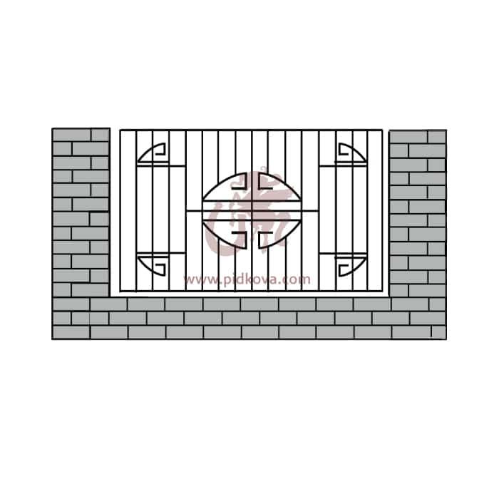 Забор z-8