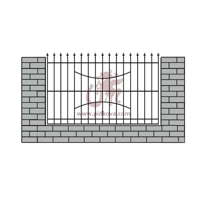 Забор z-9