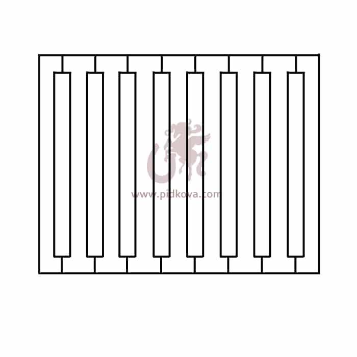 Забор zv-2