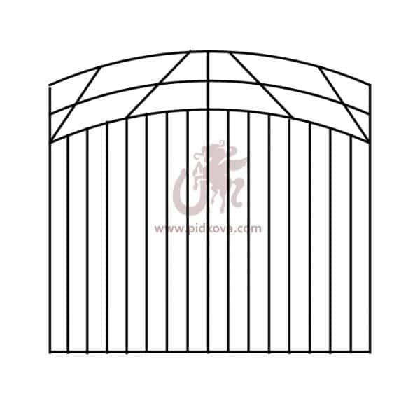 Забор zv-5