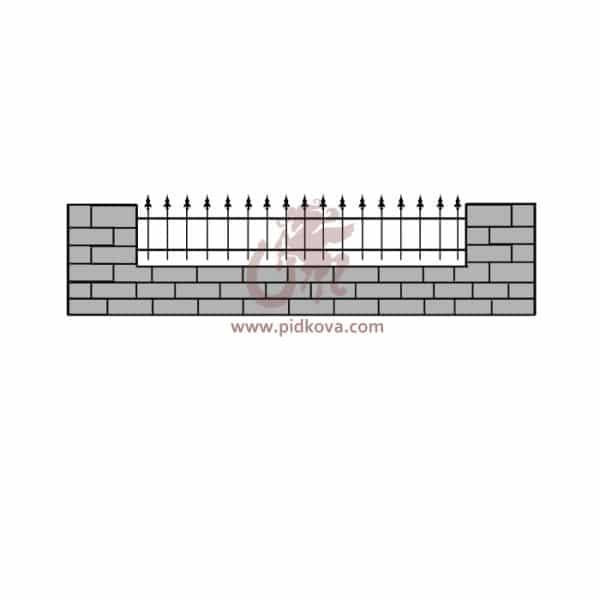 Забор z5-07