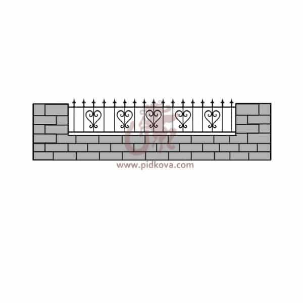 Забор z5-08