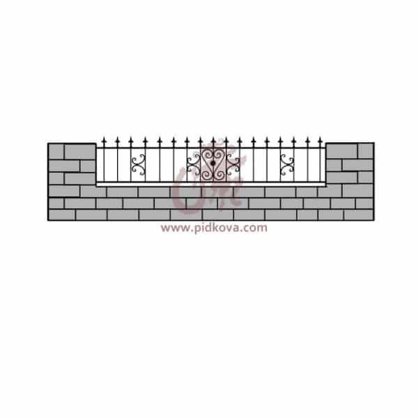 Забор z5-09