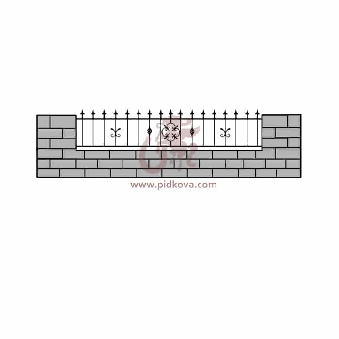 Забор z5-12