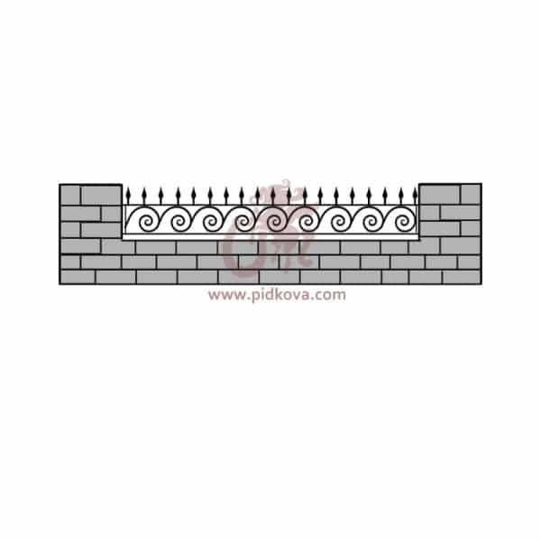 Забор z5-15
