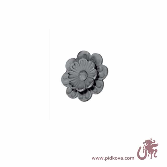 Кованый цветок 15-738