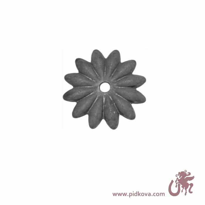 Кованый цветок 15.741