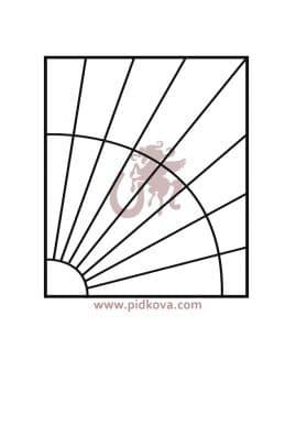 решетки на окна р25