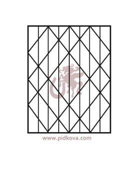решетки на окна р10