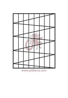 решетки на окна р15
