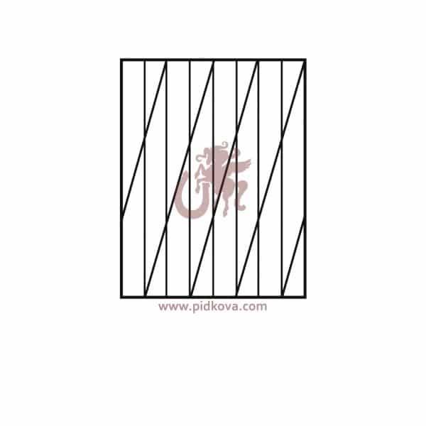 сварные решетки на окна р17