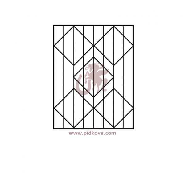 решетки на окна р5