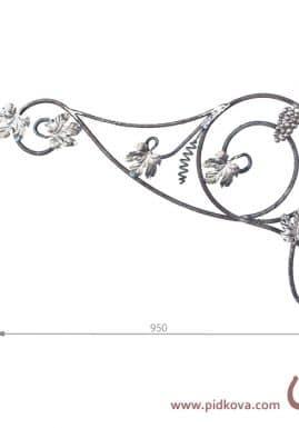 кованые элементы 5.1444 лоза
