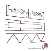Кованые оградки в наличии