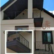 балконное ограждение стойки