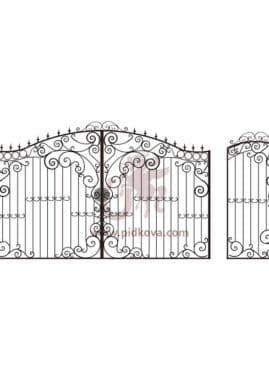 Ворота КЭ 03